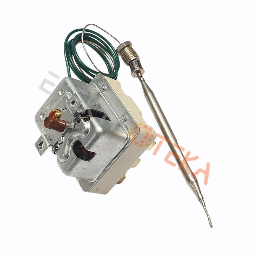 Trifazis apsauginis termostatas T.MAX 230°C 20A kapiliaro ilgis 900mm