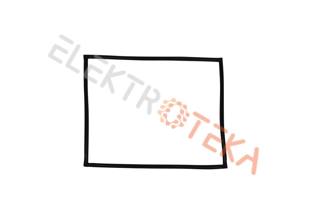 Durų tarpinė konvekcinei krosniai MKN Combisteamer 6.x skardų 2012m