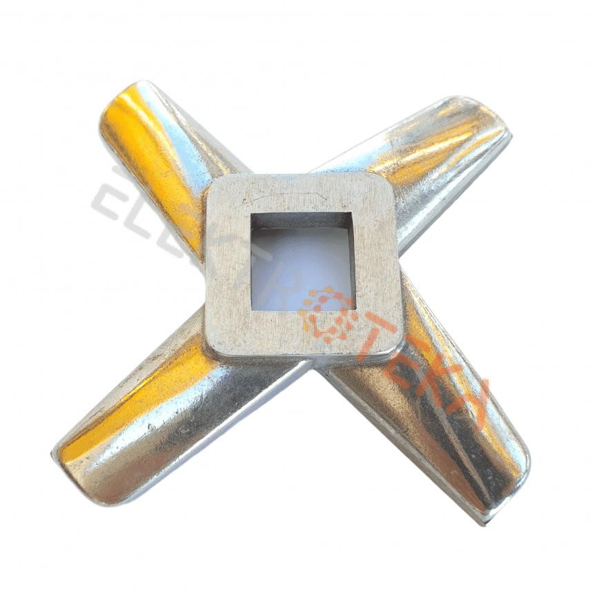Mėsmalės peiliukas MOD. 32 su kietmetalio plokštelėmis vidinė skylė 15x15mm išorinis diametras 91 mm