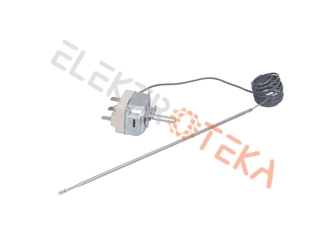 Termostatas EGO t.max. 280°C temperatūrinis diapazonas 62-280°C 1-polius 1CO 16A serija 55.19_