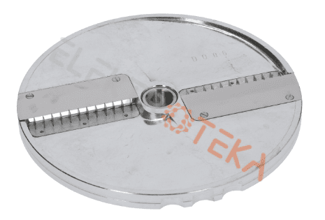 Diskas pjaustymui šiaudeliais tipas DQ6 ø 205mm ašis ø 19mm pjaustymas 6x6mm