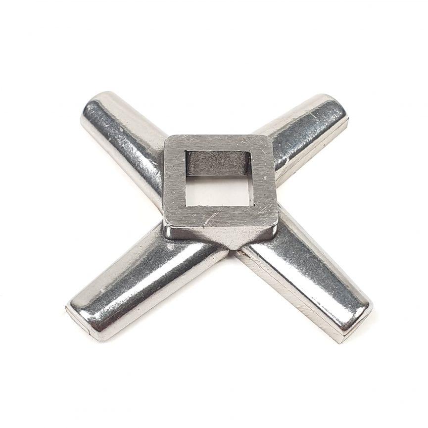 Mėsmalės peiliukas Mod.22 ENTERPRISE su kietmetalio geležtėm vidinė skylė 13x13mm