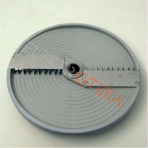 Diskas H8 daržovių pjaustyklei, tinkamas pjaustyti grežinėliais - 8mm