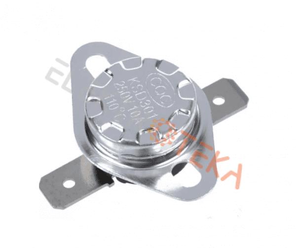 Bi-metal termostatas T.MAX 110°C 16A 1NC