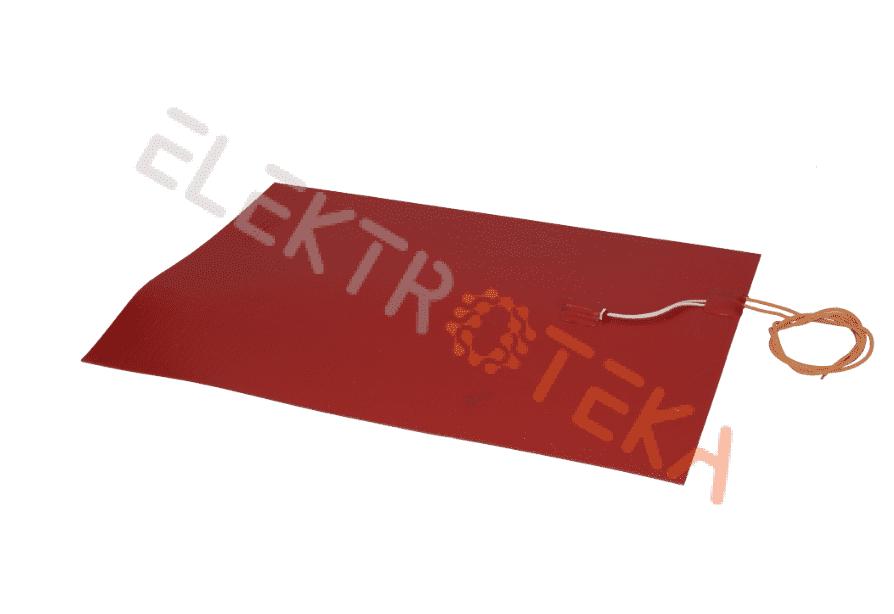 Kaitinimo elementas silikoninis 1000W 230V 400x290mm T.MAX 140°C