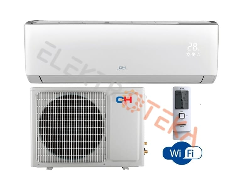 Cooper&Hunter ARCTIC Inverter CH-S24FTXLA-NG efektyvus šildymas iki -25°C