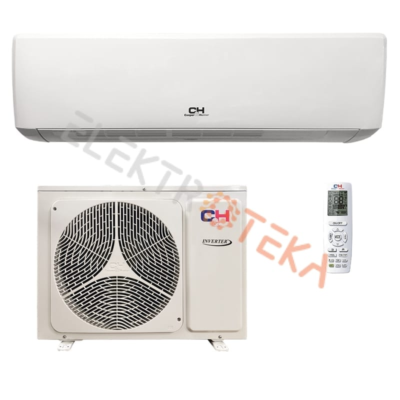 Cooper&Hunter VITAL Inverter CH-S12FTXF-NG efektyvus šildymas iki -15°C