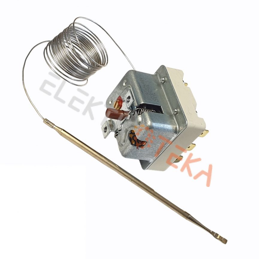 Trifazis apsauginis termostatas T.MAX 360°C 20A kapiliaro ilgis 970mm
