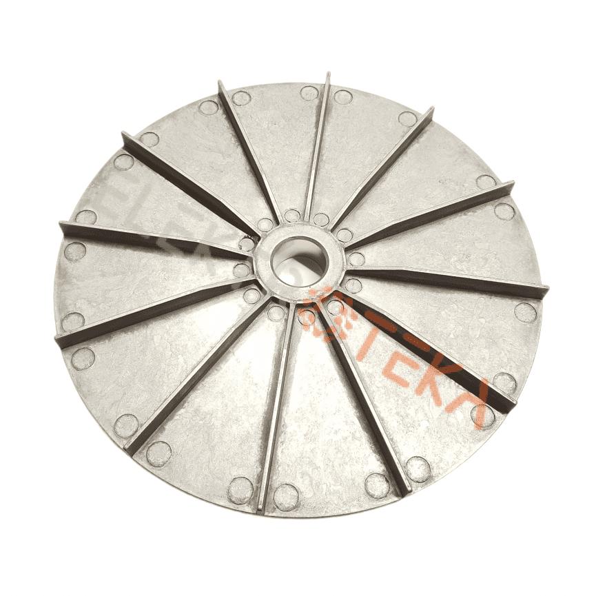 Aušinimo sparnuotė konvekcinės krosnės varikliui išorinis diametras ø 180mm ašiai ø 20mm aukštis 20mm