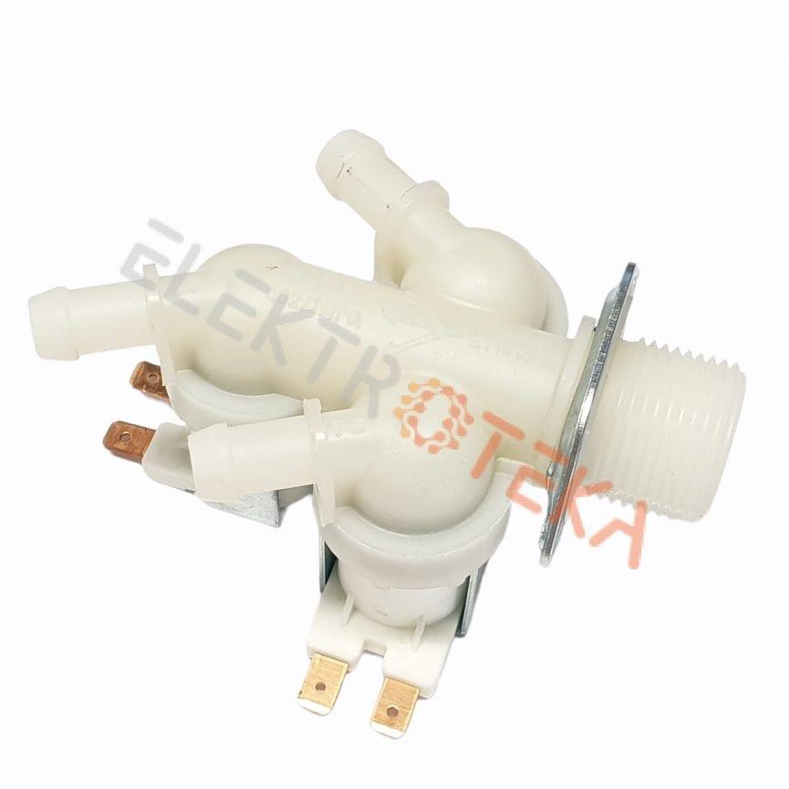 """Trigubas solenoidinis vandens vožtuvas 230VAC įėjimas 3/4"""" išėjimas 11,5mm"""