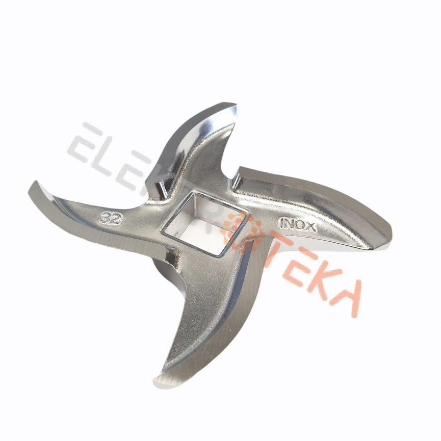 Mėsmalės peiliukas MOD.32 išorinis diametras ø 90 mm kvadratinė skylė 15x15mm