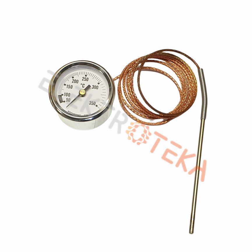Termometras temperatūrinis diapazonas 50-350°C montažinis diametras ø 52 mm