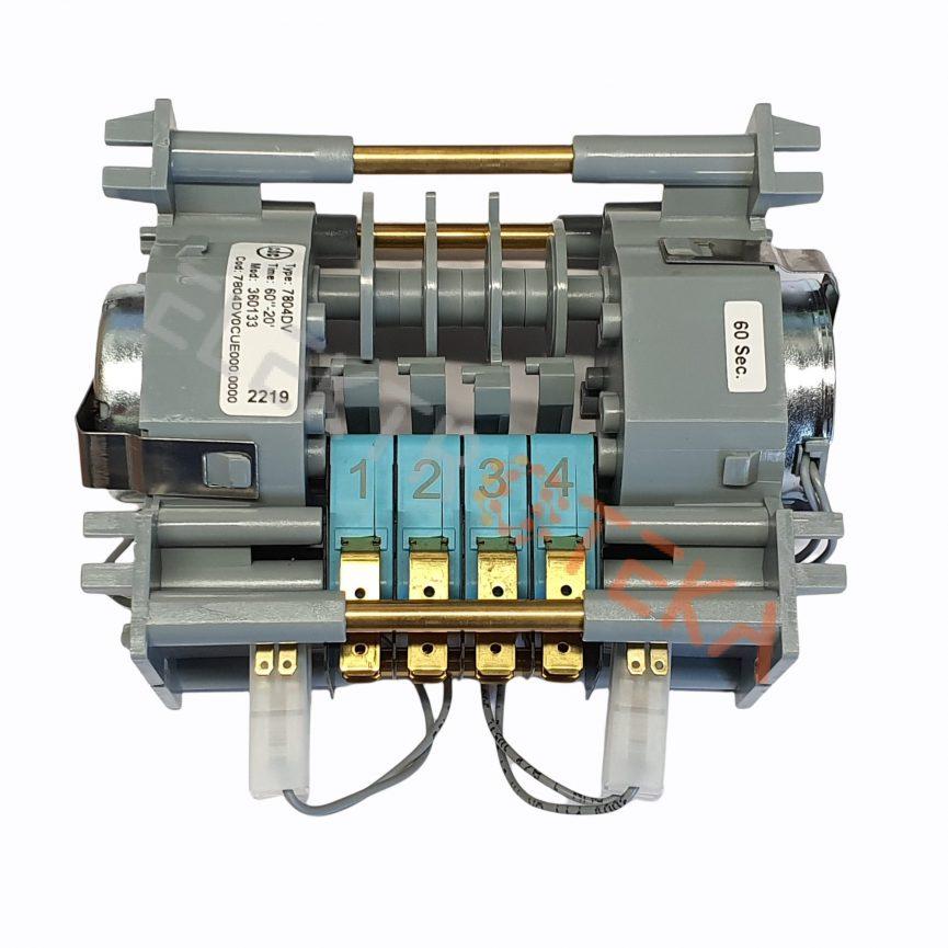 Taimeris 7804DV CDC varikliai 2 kameros 4 laiko intervalas 60s/20min 230v