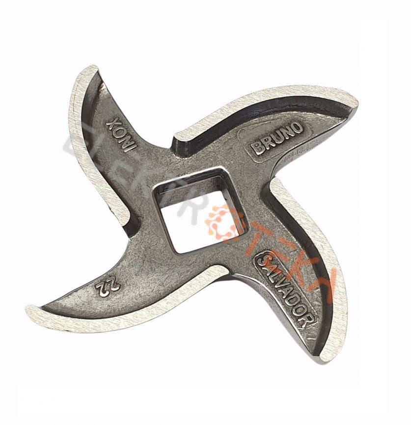 Mėsmalės peiliukas mod.22 SALVADOR išorinis diametras ø 73mm ENTERPRISE vidinė skylė 13x13 mm