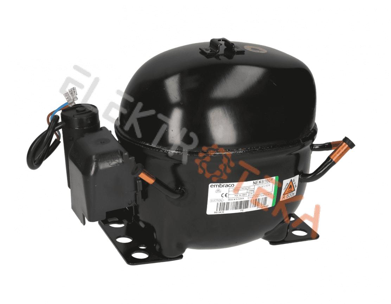 Kompresorius EMBRACO NEK6160Y R600 darbinis tūris 12,11 сm³ galingumas 1/4 HP