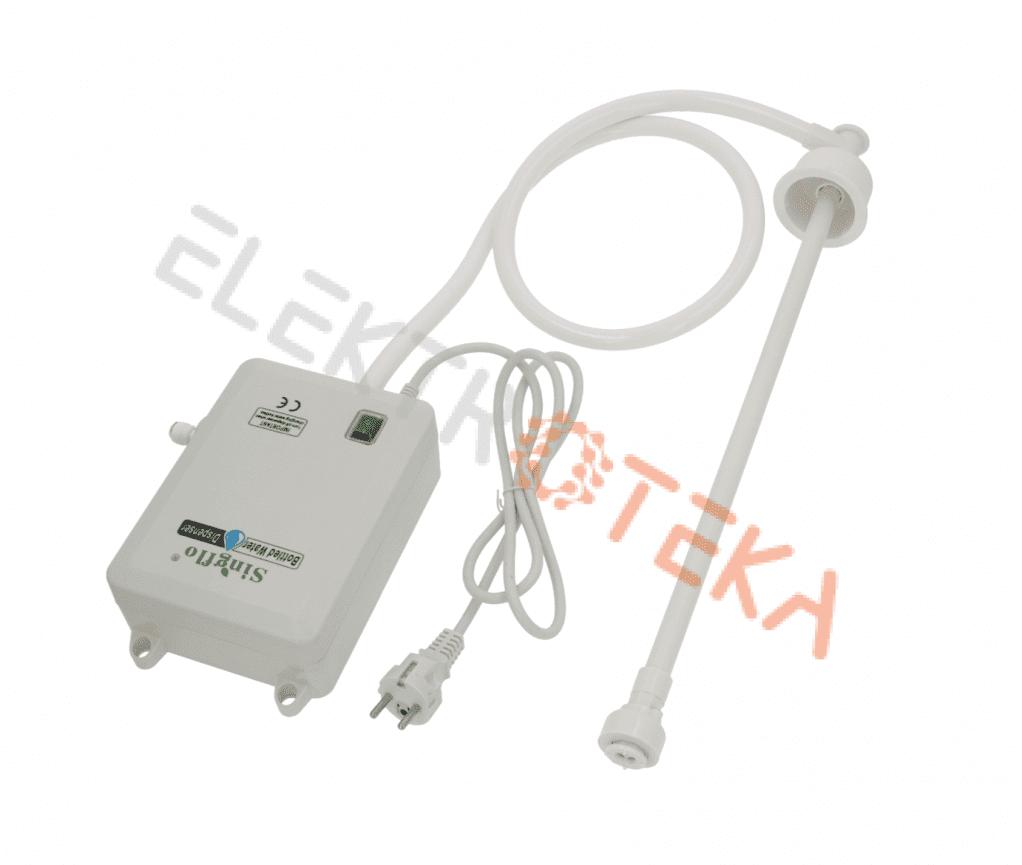 Pompa / siurblys komplekte su srauto ir lygio jutikliais PET talpoms 220/240V 50/60Hz 0.25A